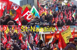 1er mai 2016 à Saint-Nazaire