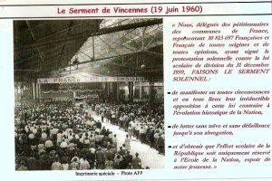 Carte du serment de Vincennes